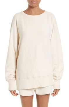 Free shipping and returns on rag & bone Max Oversize Pullover at Nordstrom.com. Raglan styling and extended sleeves exaggerate the slouchy, oversized fit of a cozy sweatshirt cut from organic-cotton terry fleece.