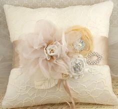 dreamy ring bearer pillow off etsy!