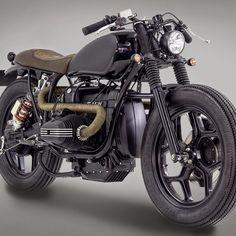 INDIRA:: BMW R80:: Ton Up Garage. | 8negro