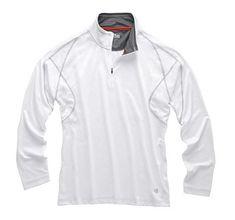 Gill Men's UV Tec Zip Neck Polo