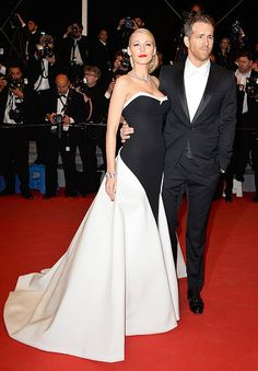 Blake Lively, Ryan Reynolds Look Perfect at Cannes Film Festival - Us Weekly