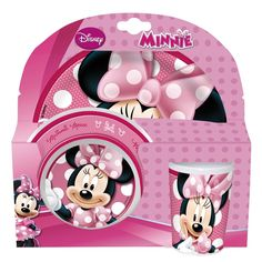 Disney Minnie Mouse 3 Piece Set Toys R Us, Buy Toys, Toys Shop, Babies R Us, Mimosas, Minnie Mouse, Kids Toys Online, Highchair Cover, Disney