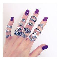 """""""Bohomoon.com """" boho rings #gypsy"""