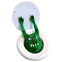 Toilet Monster Bog Monster- GREEN Big Mouth Toys http://www.amazon.com/dp/B001B0SWVW/ref=cm_sw_r_pi_dp_EZtdvb07F5EXQ