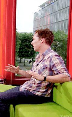 Benedict Cumberbatch - The One Show Aug 24 2012