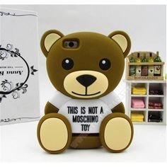 Carcasa 3D diseño divertido oso para tu móvil Xiaomi Mi4i / Mi4C