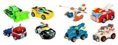 Amazon.com: Transformers Rescue Bots Collection (8 Rescue Bots): Toys & Games