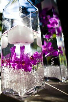 Orchid center piece. Found on Weddingbee.com