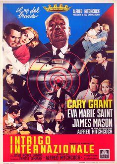 """""""Intrigo internazionale"""" di Alfred Hitchcock (1956)"""