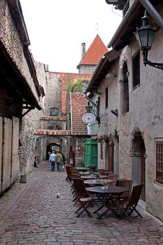 Tallinn, Estonia _ Contravento Italian restaurant? Loved that place.