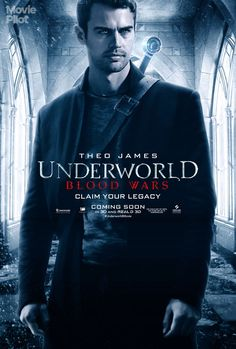 Exclusive Chilly New Character Posters For 'Underworld: Blood Wars' — Theo James As David