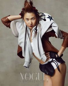 Love this from Korean Vogue.