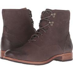 Sebago Jayne Mid Boot Dark Taupe Leather - Zappos.com Free Shipping BOTH Ways