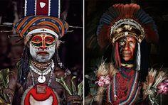 Goroka, Indonesië en Papua New Guinea-1