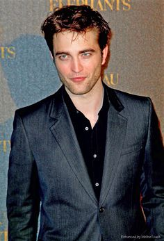 """melbietoast: """" Rob at the Premiere of Water for Elephants in Paris, May 2011. """""""