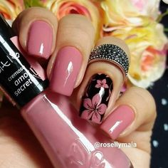 170 beautiful spring nail art designs page Fancy Nails, Trendy Nails, Pink Nails, Cute Nails, Best Nail Art Designs, Colorful Nail Designs, Hair And Nails, My Nails, Nagellack Design