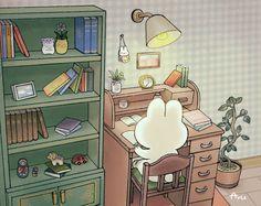 Japanese Cartoon Characters, Cute Characters, Cute Backgrounds, Cute Wallpapers, Pretty Art, Cute Art, Aesthetic Art, Aesthetic Anime, Systems Art