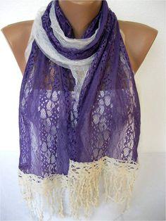 NEWLace Scarf Fashion Scarf  ShawlsScarvesGift by SmyrnaShop, $17.90