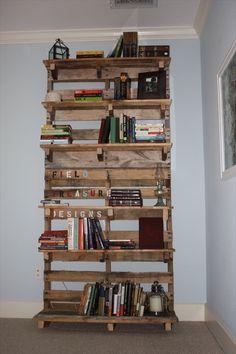 Pallet Bookshelf ideas
