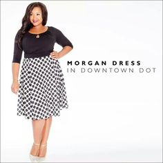 Downtown Dot Dress