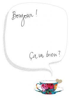 bounjour, ça va ?  marinauc.wordpress.com  illustration