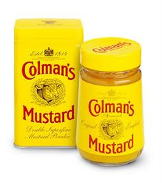 The first mustard I ever tasted~