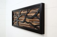 Parete in legno arte fatta di barnwood vecchio e di CarpenterCraig, $950.00