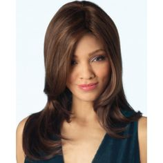Find the Brandi Wig by Rene of Paris Amore. Extra long layers cut to frame the face and neck. Short Bob Wigs, Long Wigs, Latest Hairstyles, Cool Hairstyles, Rene Of Paris Wigs, Monofilament Wigs, Hair Images, Layered Cuts, Hair Care Tips