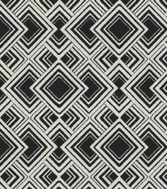 Upholstery Fabric- HGTV Home Diamond Reps Zinc