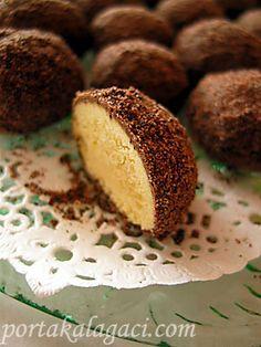 Arap_kurabiye3_1 Köstliche Desserts, Delicious Desserts, Biscuits, Muffin, Food And Drink, Cupcake, Meals, Cookies, Breakfast