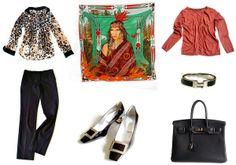 MaiTai's Picture Book: Wa'Ko-Ni Hermès carré stylesheet