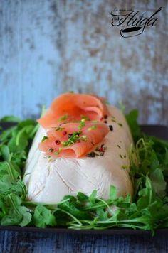 mousse de salmón ahumado al vodka bandeja