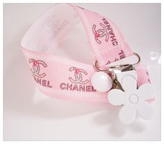 Gorgeous Baby Shower Gift - Chanel Designer Dummy Clip