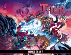 Marvel Legacy kicks off in earnest, plus a whole lotta Star Wars and everything else from Marvel in October 2017.