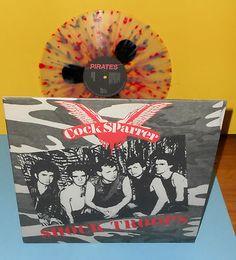COCK SPARRER shock troops LP 180 Gram Limited Multi-Colored Vinyl