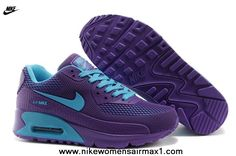 promo code 42303 05bc4 Purple Nike Air Max 90 Womens Shoes HYP PRM KPU Shoes