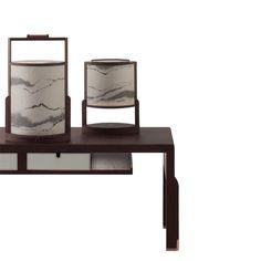 PIGI lighting series. stone veneer diffuser.