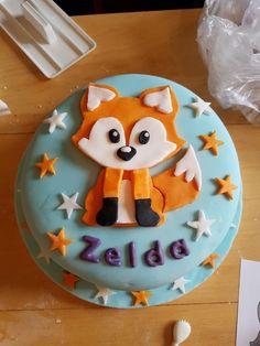 Fox Cake - Paityn's birthday