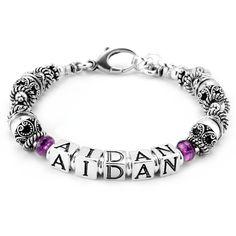 63f495efd Elisa Ilana Aidan Style Mother's Bracelet #Mother #Bracelet #Jewelry #Mom  #GiftIdea #MotherGift #Children #Grandchildren