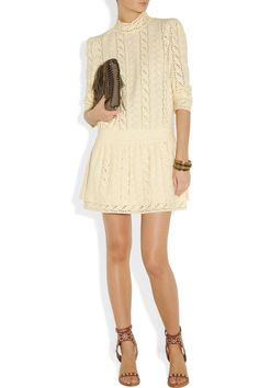 Cream cotton eyelet Dropped waist, fully lined Hook and zip fastening along back cotton Dry clean Designer Clothes Sale, Discount Designer Clothes, Designer Dresses, Day Dresses, Nice Dresses, Embellished Sandals, Eyelet Dress, High Fashion, Style Inspiration