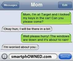 - - Autocorrect Fails and Funny Text Messages - SmartphOWNED Funny Shit, Funny Texts Jokes, Text Jokes, Funny Text Fails, Cute Texts, Funny Relatable Memes, Funny Stuff, Funny Blonde Jokes, Funniest Quotes