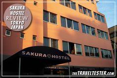 Hostel Review - Sakura Hostel Asakusa, Tokyo (this is where I wanna stay)