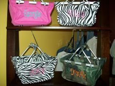 personalized Easter Baskets/market totes