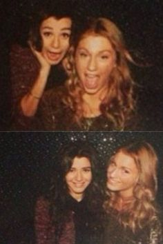 Eleanor with her friend. .. I thought her friend was Taylor Swift for a second O_o