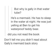 I haven't seen the movie either, so I was very confused as to why he was in a water tube.  Thank you for explaining!