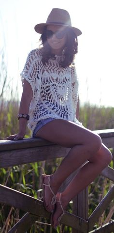 Cute Crochet Cover Up