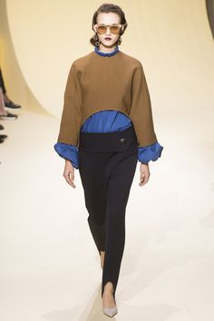Marni Fall 2016 Ready-to-Wear Collection Photos - Vogue stirrup pants