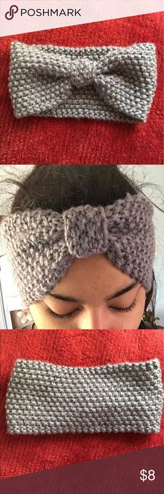 Bow tie headband Perfect for the fall/ winter season. I've worn this maybe 1x. Other