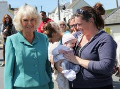Camilla Parker Bowles Photos - Camilla, Duchess of Cornwall meets members of the public during a visit to the Welsh Village on July 5, 2016 in Aberdaron, England. The Prince Charles, Prince of Wales and Camilla, Duchess of Cornwall are on the second day of their annual visit to Wales. - Prince Of Wales & Duchess Of Cornwall's Annual Summer Visit To Wales