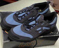 NOS EUC LAKE Women's Mountain Bike Cycling Shoes MX60-W Grey/Blue Size 42